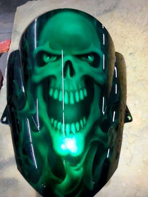 Southern Cycle Werks Custom Paint Jobs for Motorcycles